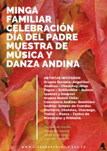 Muestra Escuela de Música y Danza Schilenkha @ Liceo Nuevo Chile